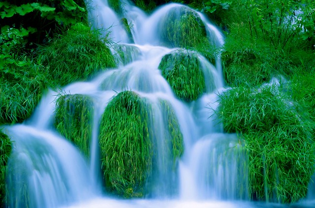 Magic Waterfall Blue