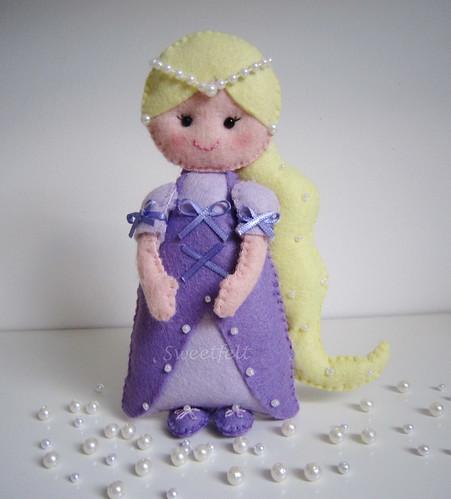 ♥♥♥ Rapunzel... by sweetfelt \ ideias em feltro