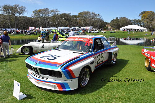 1975 BMW 3.0 CSL at Amelia by Nigel Smuckatelli