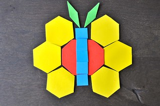 Butterfly Foam Pattern Blocks