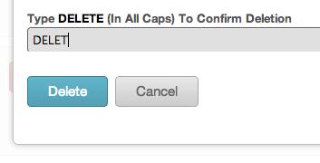 mailchimp delete confirmation 2