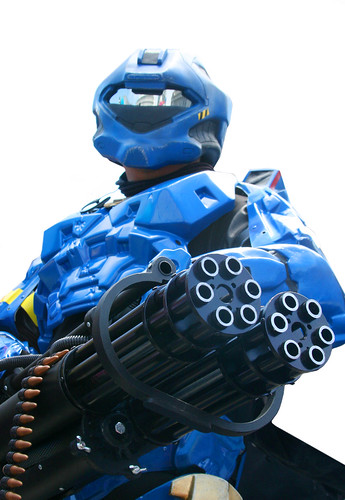 Halo Cosplay Robot