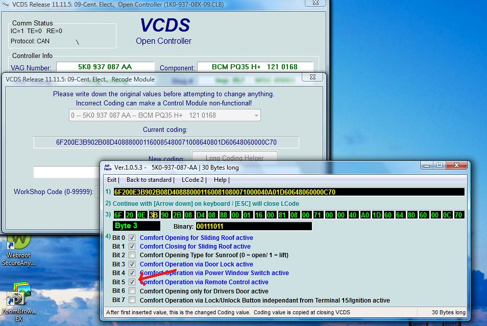VWVortex com - HOW-TO: VagCom / VCDS Mods (w/pics)