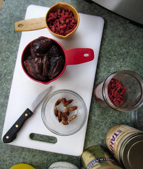 Goji Berries and Dates