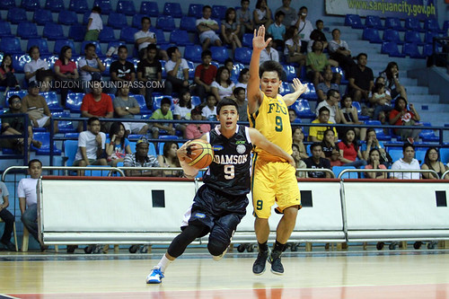 FilOil 2013: FEU Tamaraws vs. Adamson Falcons, April 20
