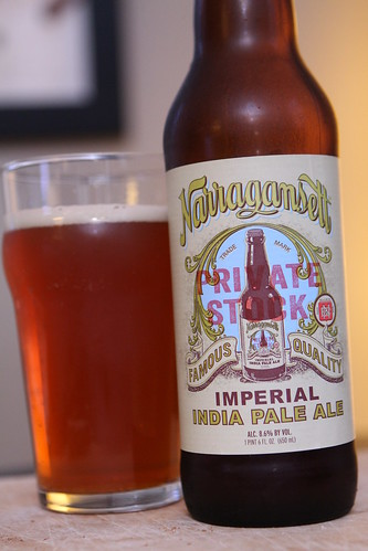 Narragansett Private Stock Imperial India Pale Ale