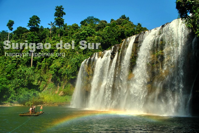 Tinuy an Falls in Bislig City, Surgao Del Sur