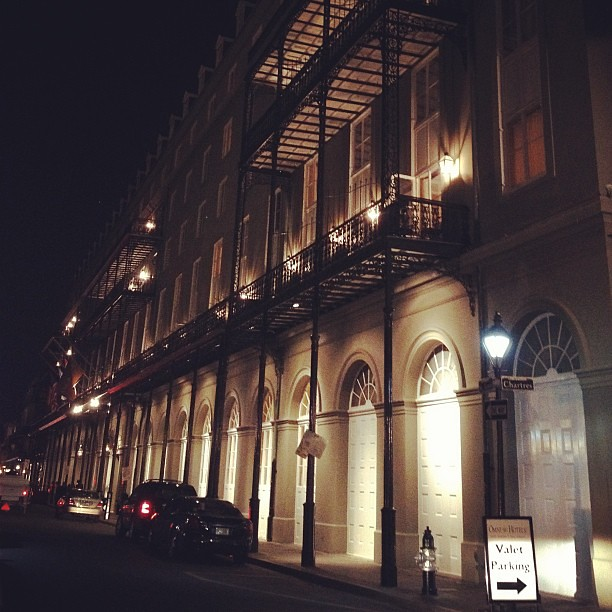 At night. #neworleans