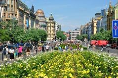 Prague : Wenceslas Square / Václavské náměstí  4/4  - Explore #463  -
