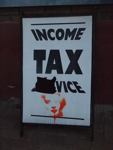 sign, sin tax?