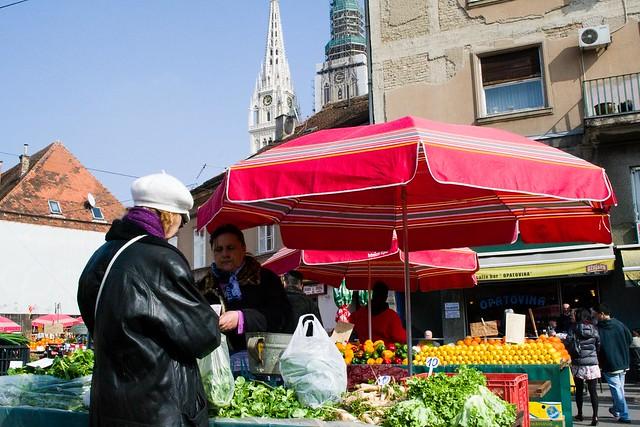 Dolac Market | Zagreb, Croatia