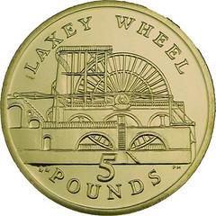 Laxey Wheel coin