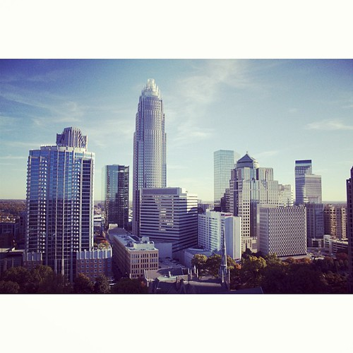 View from the Vue #uptown #clt {11.12.2010}