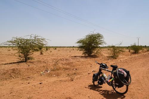 Image: 80 km de piste jusqu'à Keur Momar Sarr