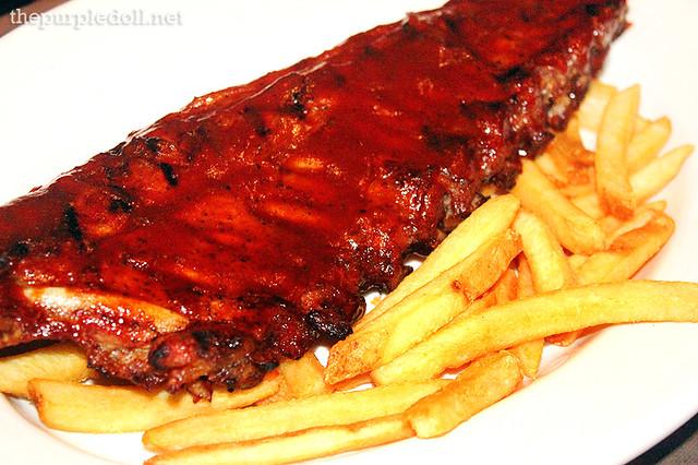 BBQ Pork Ribs P549