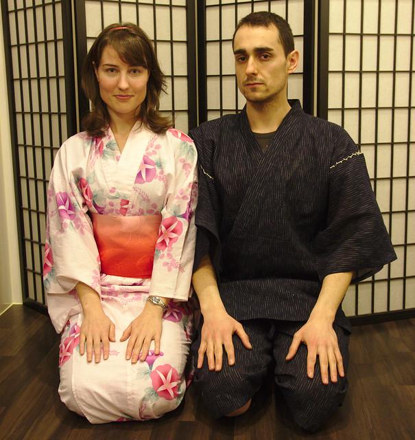 0852 - Con los Kimonos