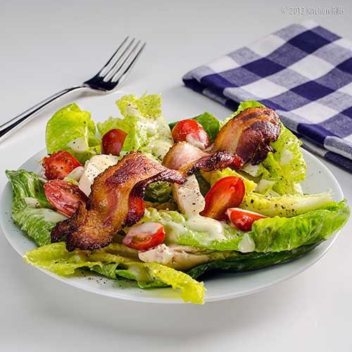 Kitchen Riffs: Chicken, Lettuce, and Mayonnaise Salad