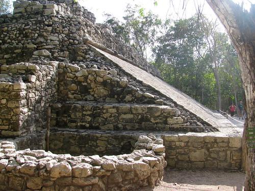 Pirámide en Cobá