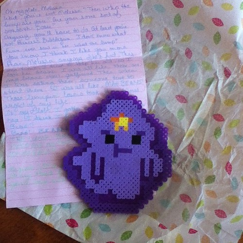 LSP!!! The most amazing letter and gift from @ToastyTreat #IGGPPC