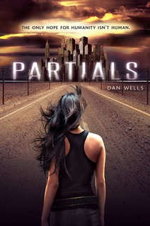 cover of the book Partials, which stars a girl of color