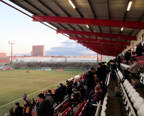 New Douglas Park, Hamilton, Main Stand