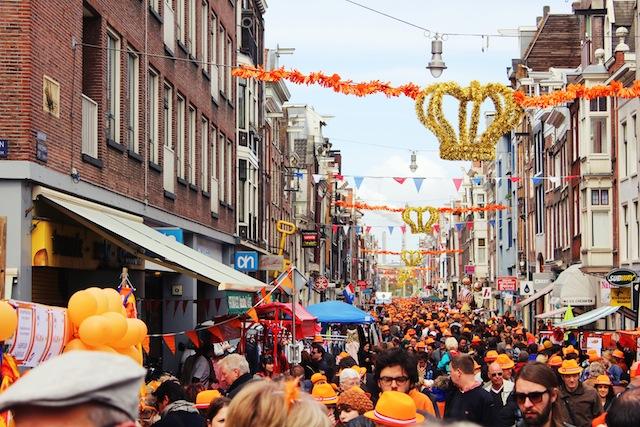 Queen's Day Haarlemmerdijk