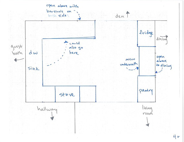 kitchen floor plan options 002
