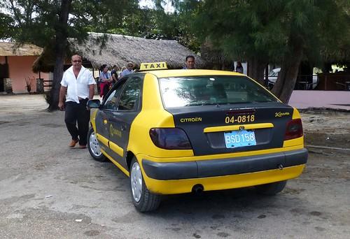 Citroën Xsara Taxi, Cuba