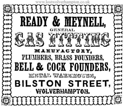 Meynells Advert dated 1851.