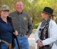 Corizon Sharp Shooters Coleen Meringolo, Sheriff Judd, Jane Lachner Corizon