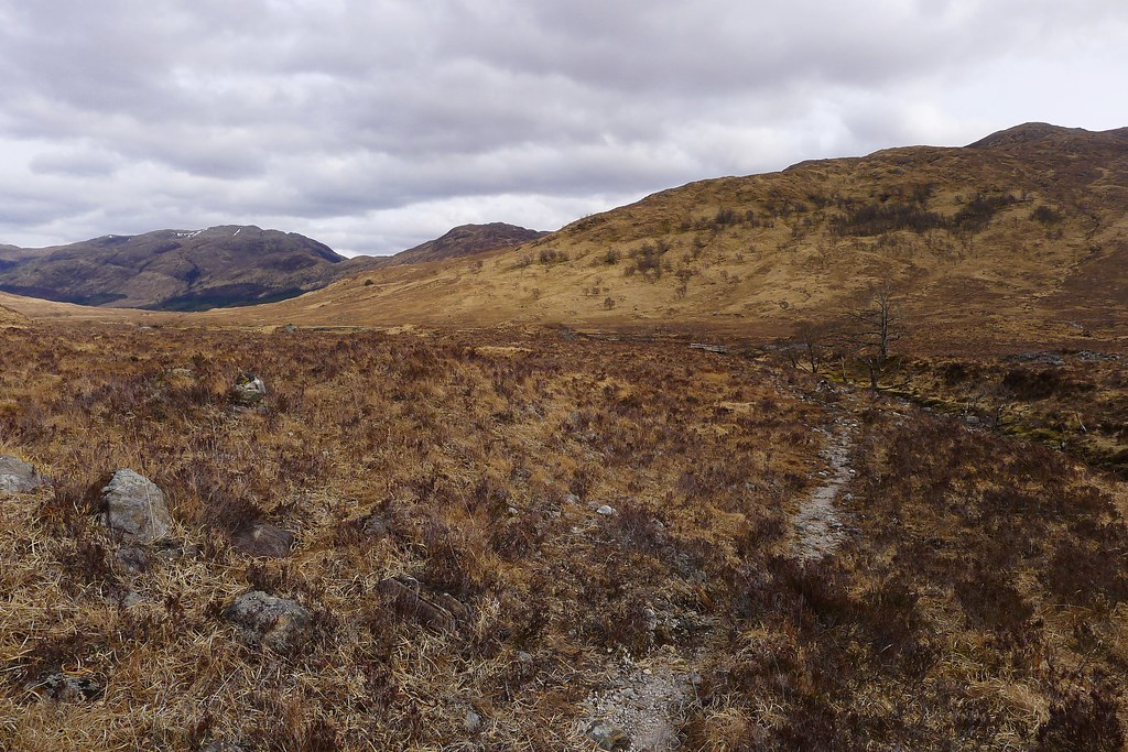 Path to Glen Scaddle