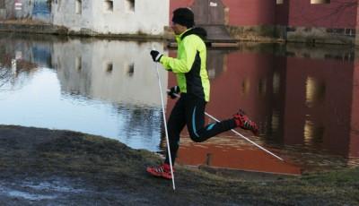 Běh s holemi výrazně zefektivňuje trénink a šetří vaše nohy