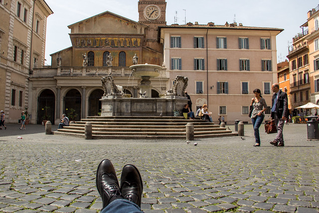 Rome - Traveling Boots