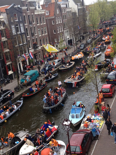 Queensday Brouwersgracht