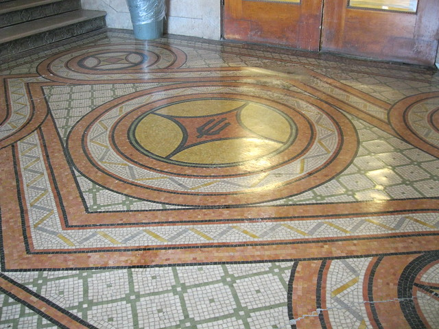 Tile floor outside mathematics library flickr photo for Floor mathematics