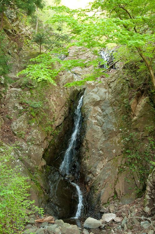 大山登山・二重滝