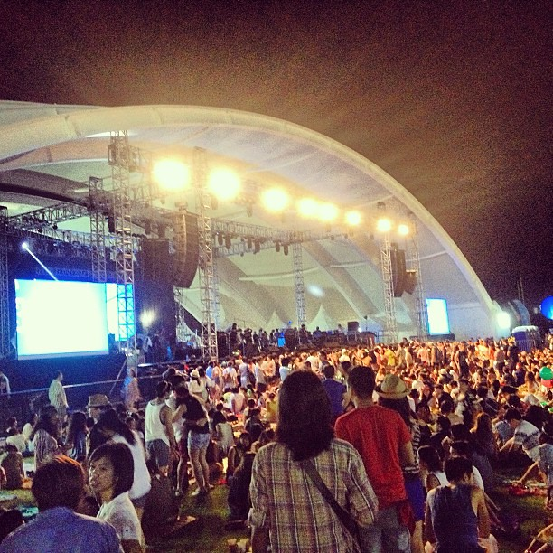 I think I'm in Coachella-lite. Hipster central over here. #wanderland2012  #igdaily #instadaily #instagram #instagood #instamood #instacool #picoftheday #photooftheday #bestoftheday #webstagram #igersmanila #igmanila #igphilippines #iphone4s #iphoneonly