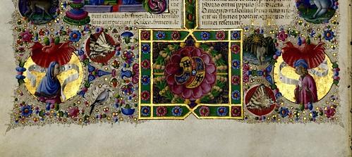 010-Bibbia di Borso d'Este-Vol 1- Hoja 54 detalle- Biblioteca Estense de Módena