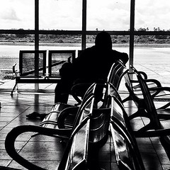 Playing the waiting game at #Zanzibar international airport