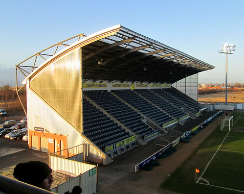 Falkirk Stadium, West Stand