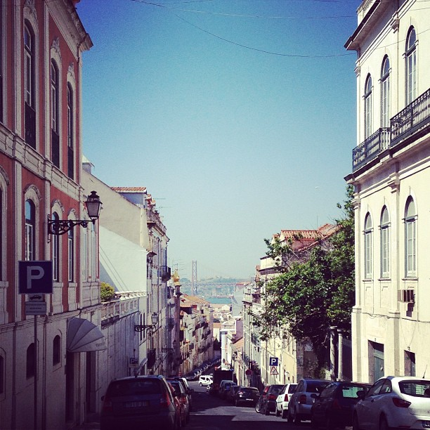 Perfectly blue on a #perfectblue #lisbon day.