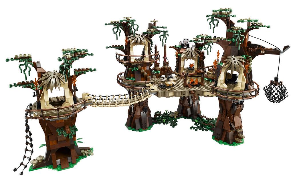 Poblado Ewok Lego 10236