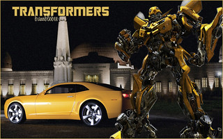 Transformers Bumblebee Both Modes
