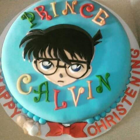 Detective Conan Themed Cake by Liziel Dimla