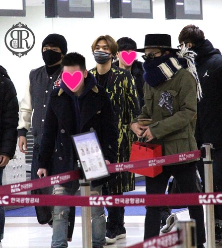 Big Bang - Gimpo Airport - 27feb2015 - BB Rhythm - 01