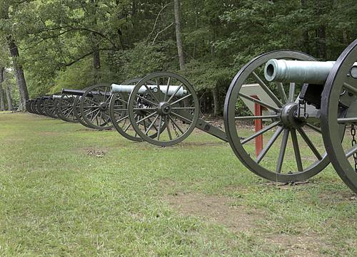 Confederate Gun Line