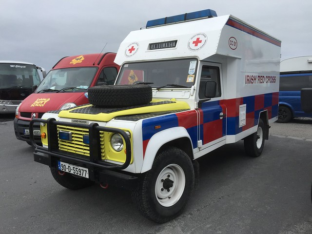Irish Red Cross - Land Rover Ambulance - Doolin Harley Fest Charity Run - September 2016 - Lahinch, County Clare.