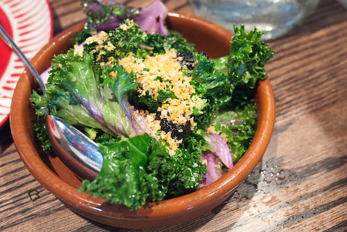 Kale Salad @ Ox & Angela