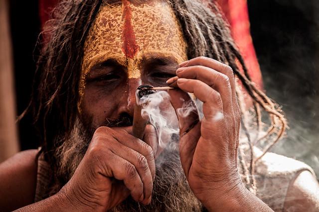 Smoke @ kumbh