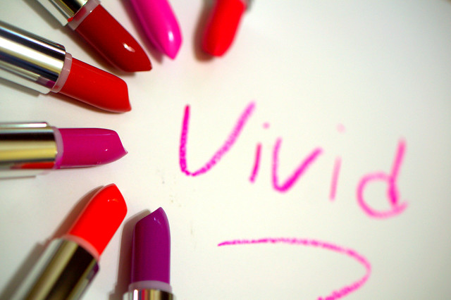 Target Spring Means Maybelline Color Sensational Vivid lipsticks